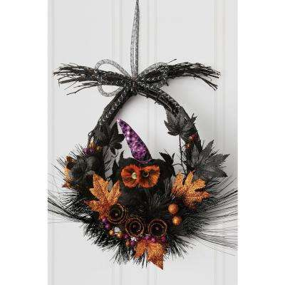 18 in. All Hallow's Eve Wreath
