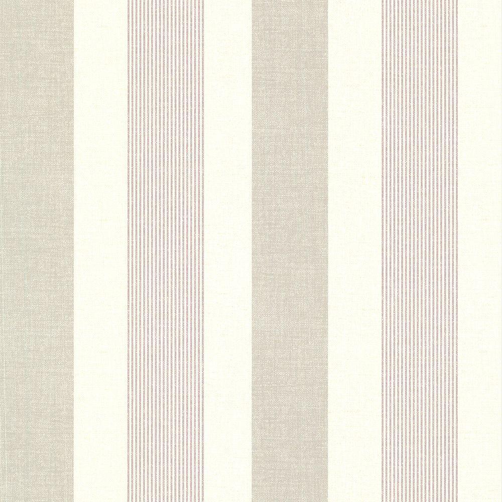 Brewster Jace Purple Stripe Wallpaper 2686-22029