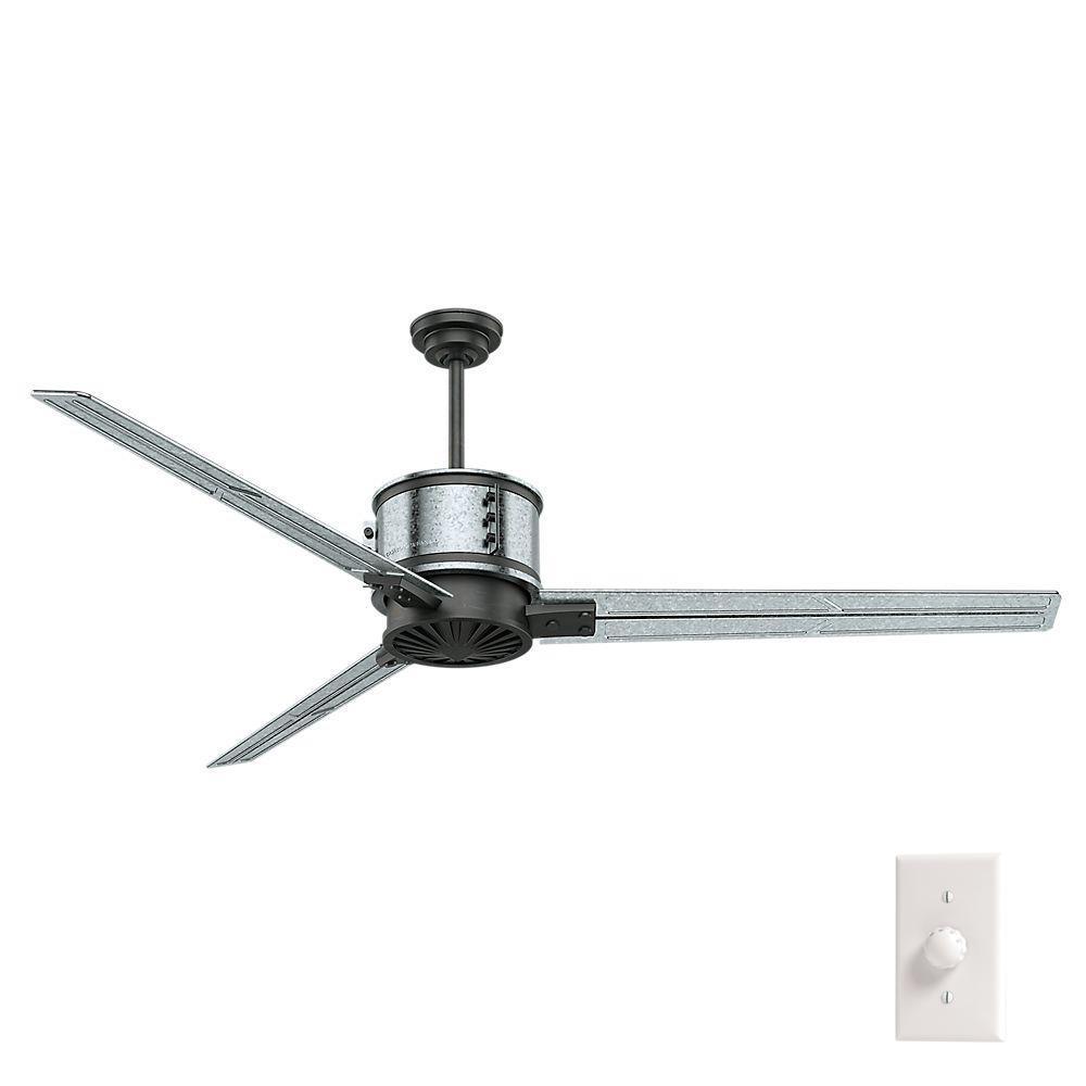 Duluth 72 in. Indoor Galvanized Steel Ceiling Fan