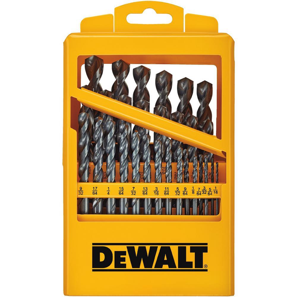 Dewalt Black Oxide Drill Bit Set (29-Piece) by DEWALT