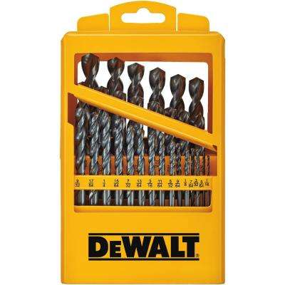 Black Oxide Drill Bit Set (29-Piece)