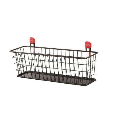 Small Black Shed Wire Basket