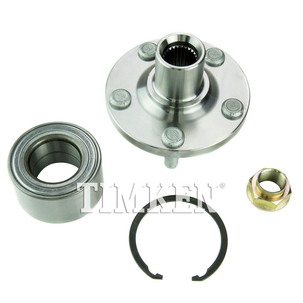 Front Wheel Bearing And Hub Embly Fits 2003 2017 Toyota Corolla