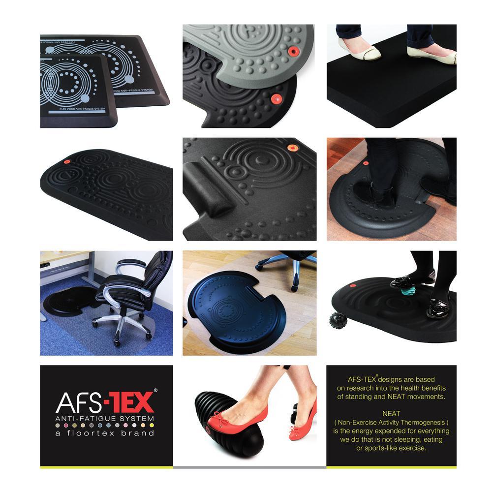 System 3000X Anti Fatigue Mat Black (20 in. X 39 in.)