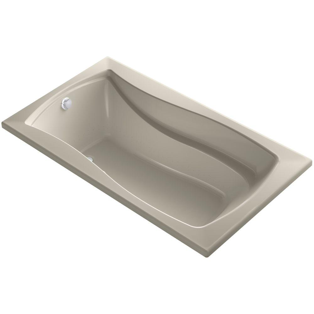 Mariposa 5.5 ft. Air Bath Tub in Sandbar