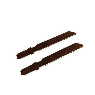 2-3/4 in. 12 Teeth per in. High Speed Steel Jig Saw Blade (2-Pack)