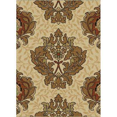Harrison Bisque 8 ft. x 11 ft. Area Rug