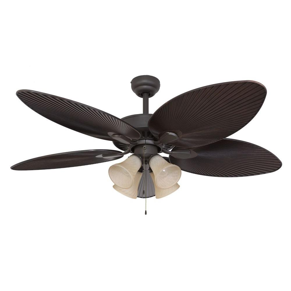 Sahara fans tortola 52 in bronze ceiling fan 10055 the Home depot kitchen ceiling fans