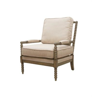 Windsor Ivory Linen Occasional Chair