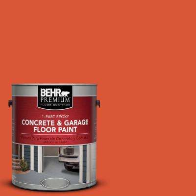 1 gal. #P190-7 Inferno 1-Part Epoxy Concrete and Garage Floor Paint