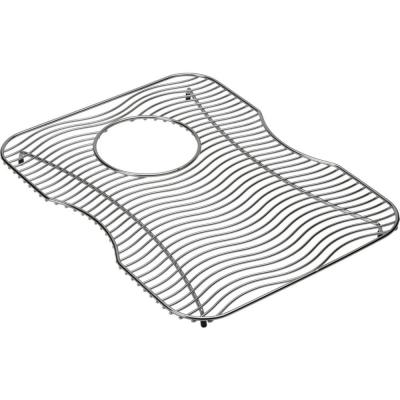Lustertone 13 in. x 17 in. Bottom Grid for Kitchen Sink in Stainless Steel