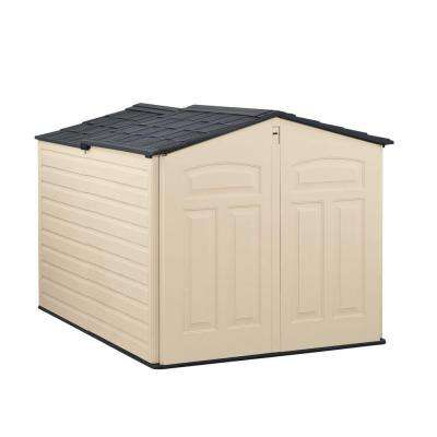 6 ft. 6 in. x 5 ft. Slide-Lid Resin Shed