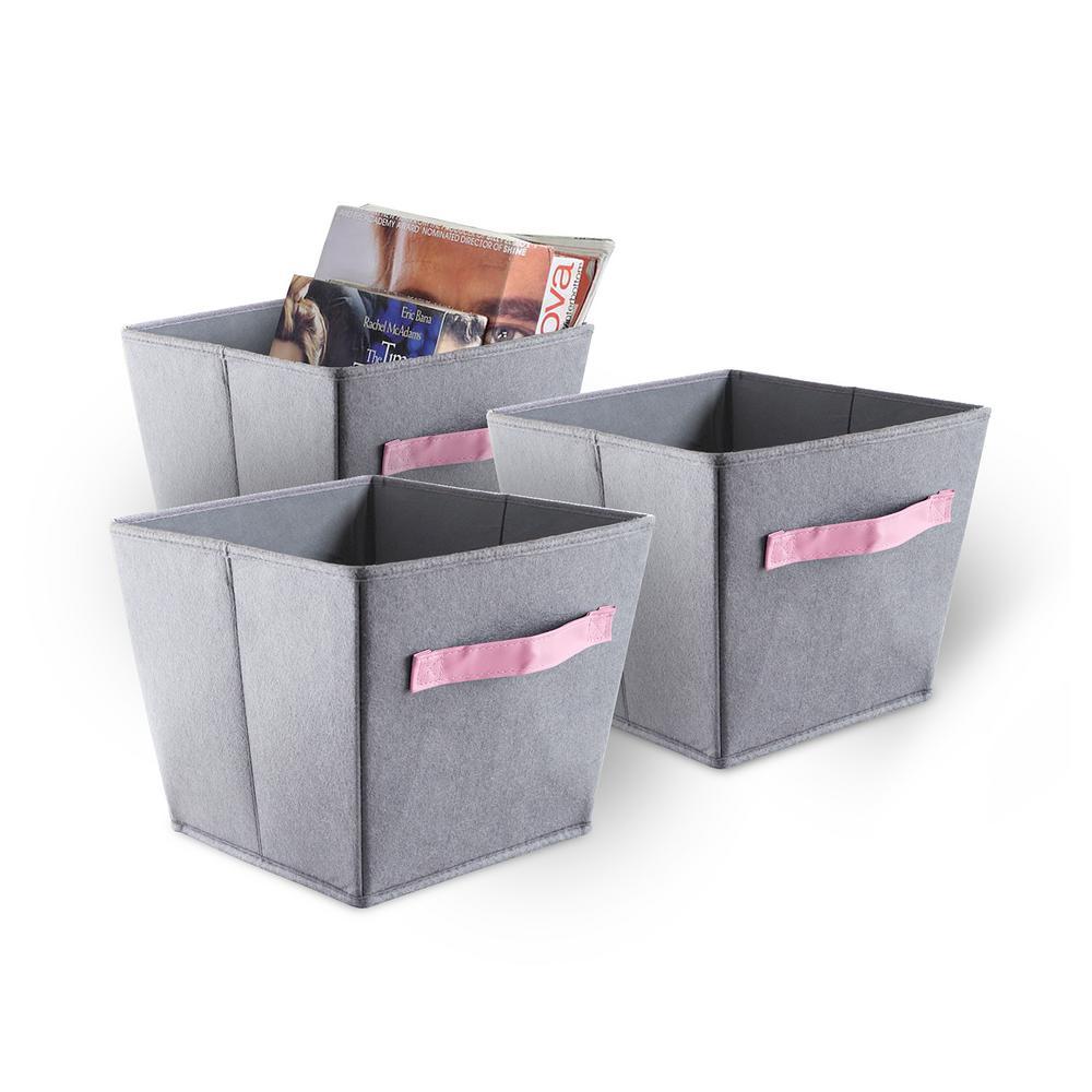 Felt Storage Bin (3-Piece)