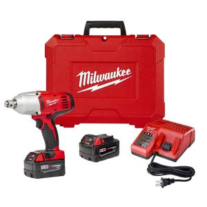 Milwaukee M18 18-Volt Lithium-Ion Cordless 3/4 inch Impact Wrench W/ Friction Ring W/(2) 3.0Ah Batteries, Charger, Hard... by Milwaukee
