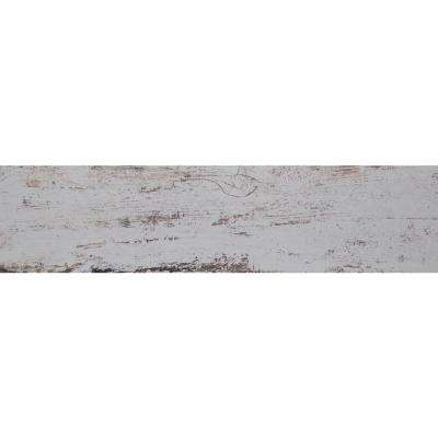 White Washed Wood 6 in. x 36 in. Glazed Porcelain Floor and Wall Tile (13.5 sq. ft. / Case)