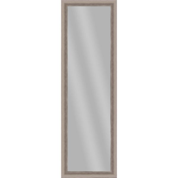 Large Rectangle Champagne Art Deco Mirror (51.875 in. H x 15.875 in. W)