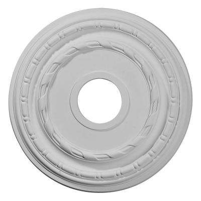 15-3/8 in. OD x 3-5/8 in. ID x 1 in. P (Fits Canopies up to 8-1/4 in.) Dublin Ceiling Medallion