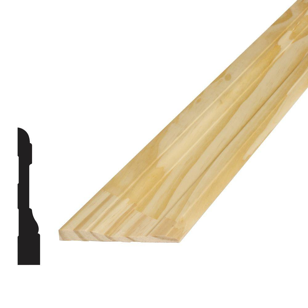11/16 in. x 4-1/4 in. x 96 in. Pine Finger-Jointed Casing