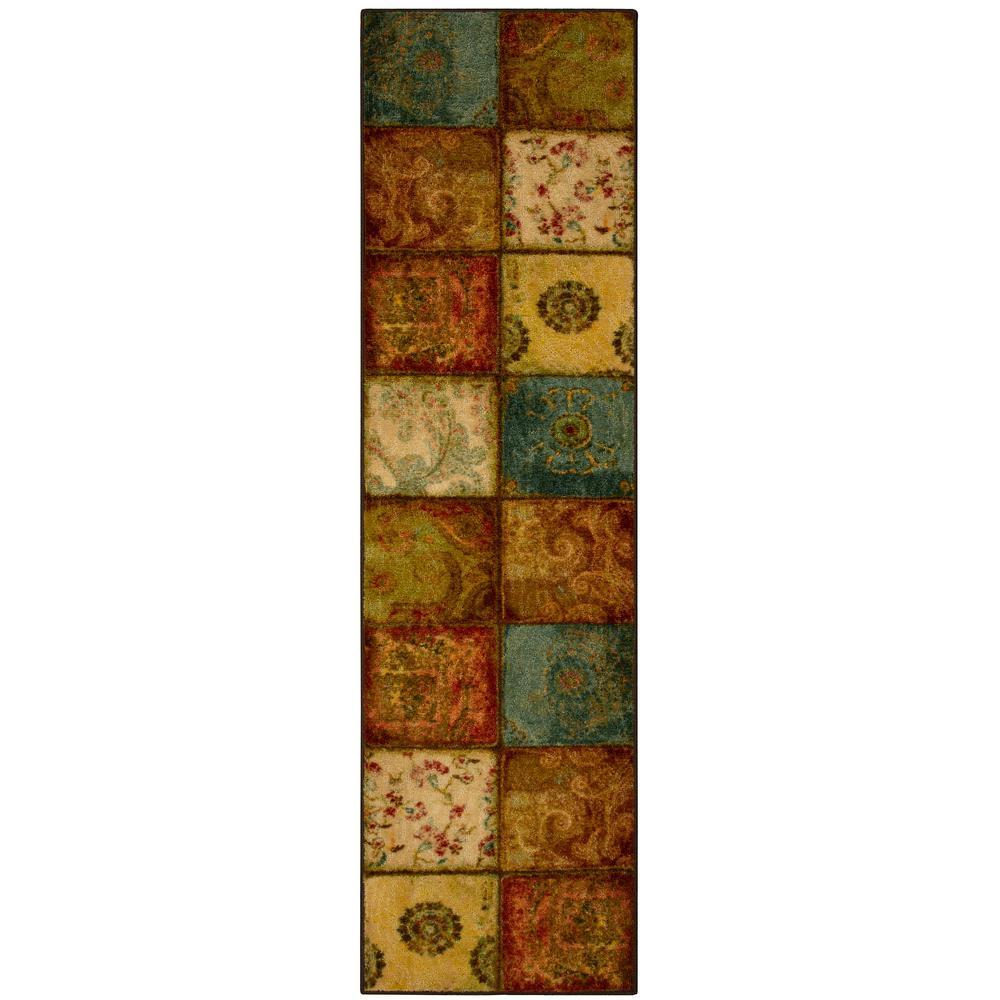 Artifact Panel Multi 2 ft. x 8 ft. Runner