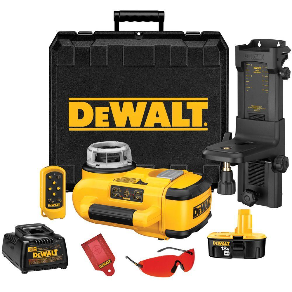 18-Volt Self-Leveling Rotary Laser Level Interior Kit