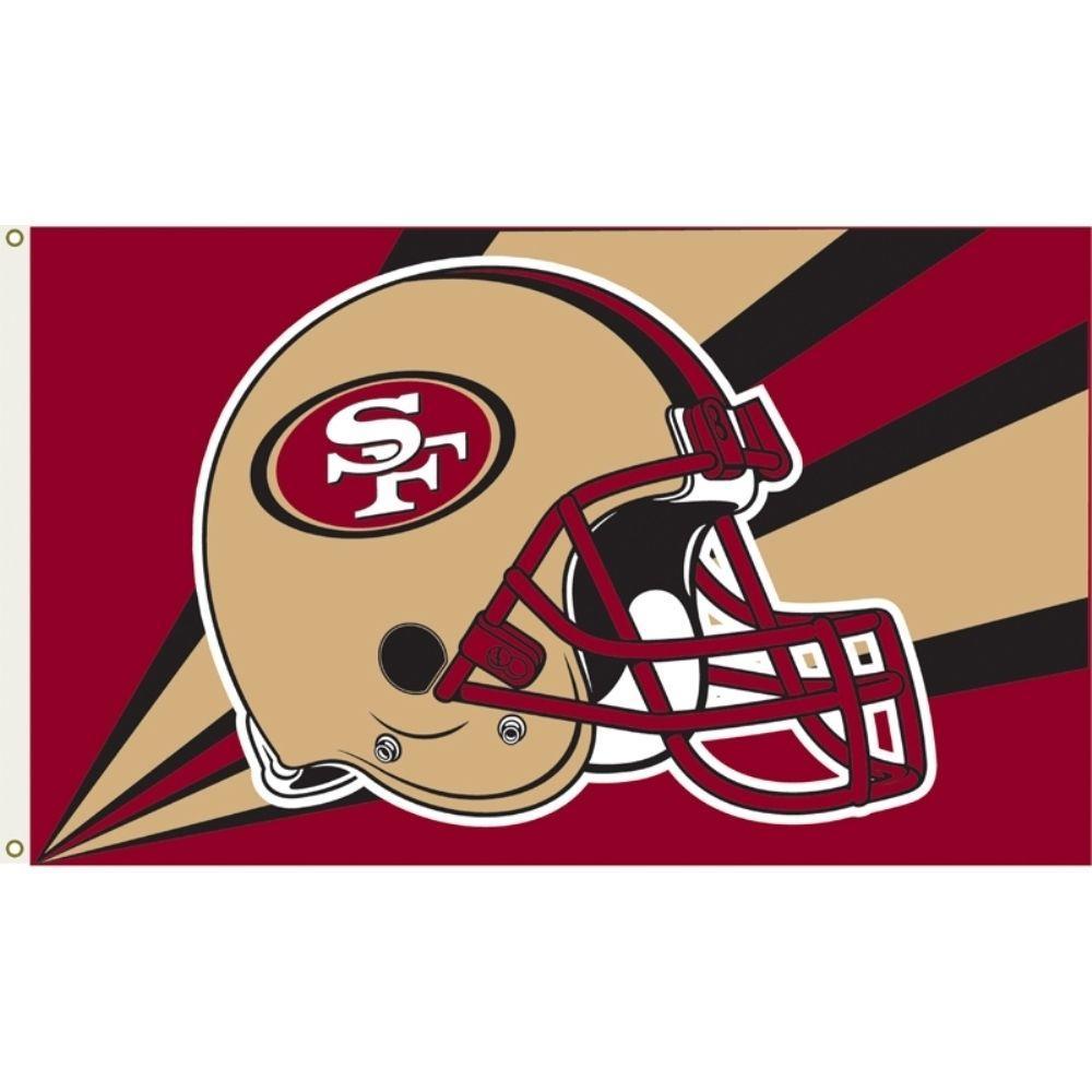 3 ft. x 5 ft. Polyester San Francisco 49ers Flag