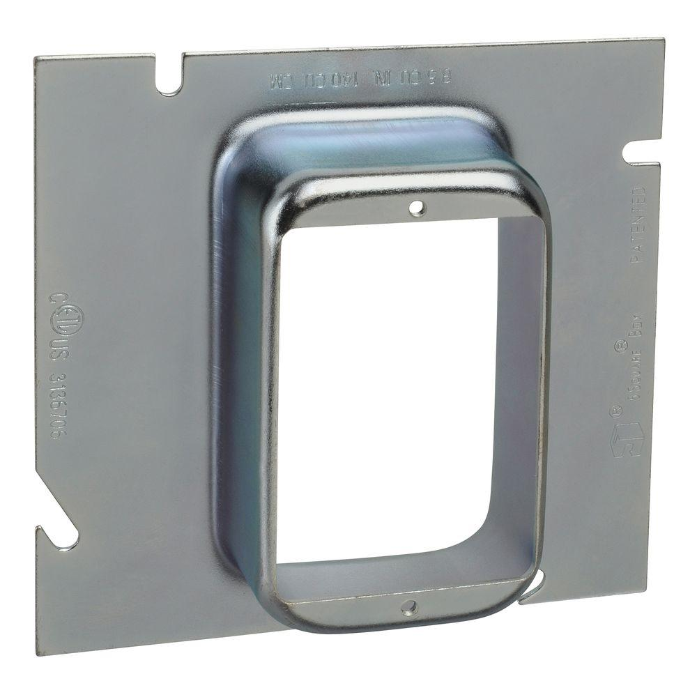 1-1/4 in. 5-Square Single Gang Ring (10 per Case)