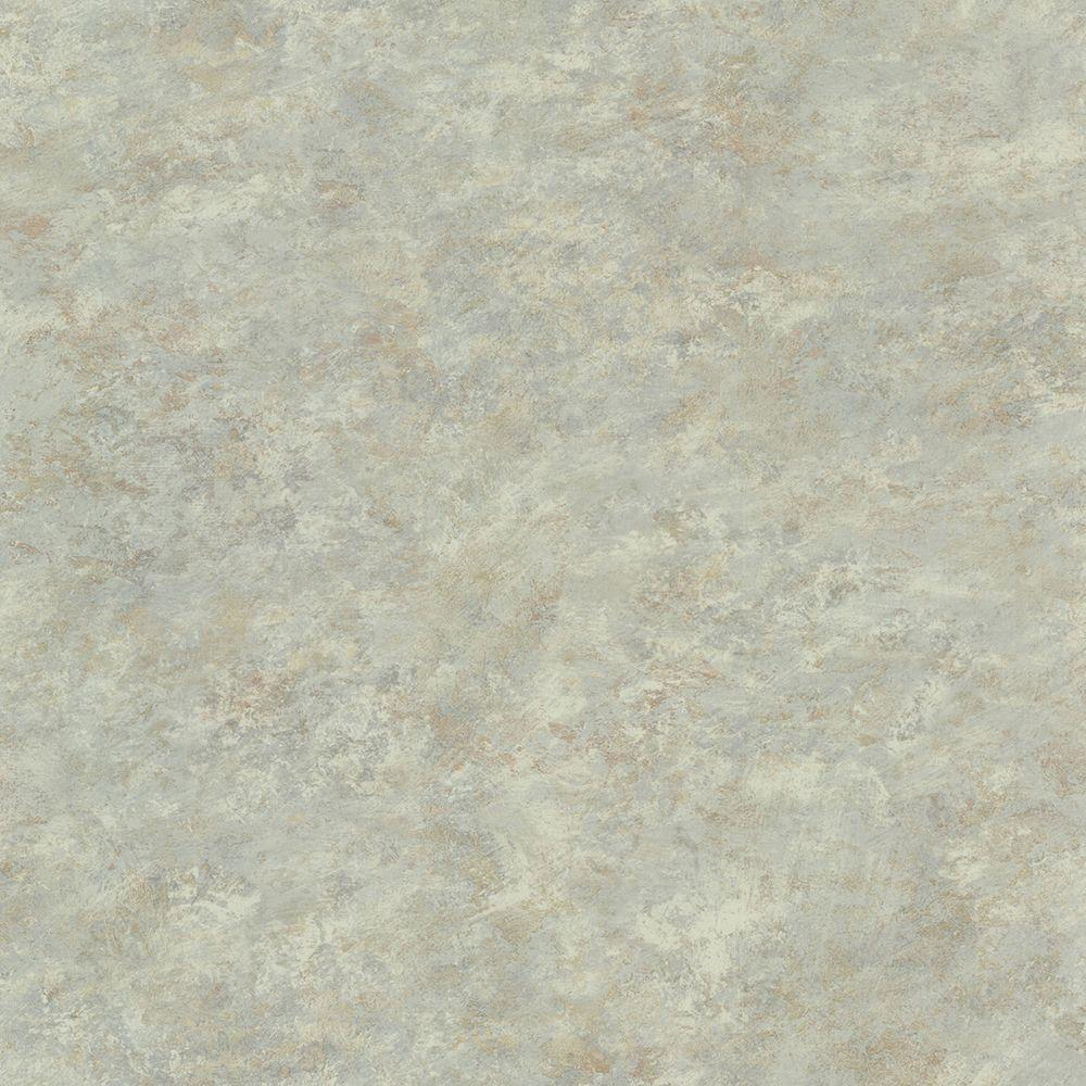 Whitetail Lodge Sky Distressed Texture Wallpaper Sample, Blue