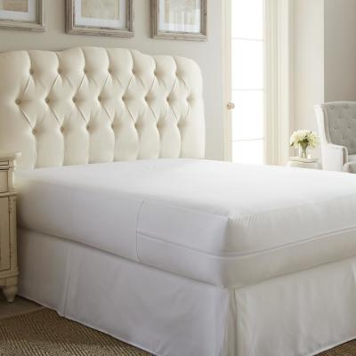 Premium Twin Bed Bug and Spill Proof Zippered Microfiber Mattress Protector