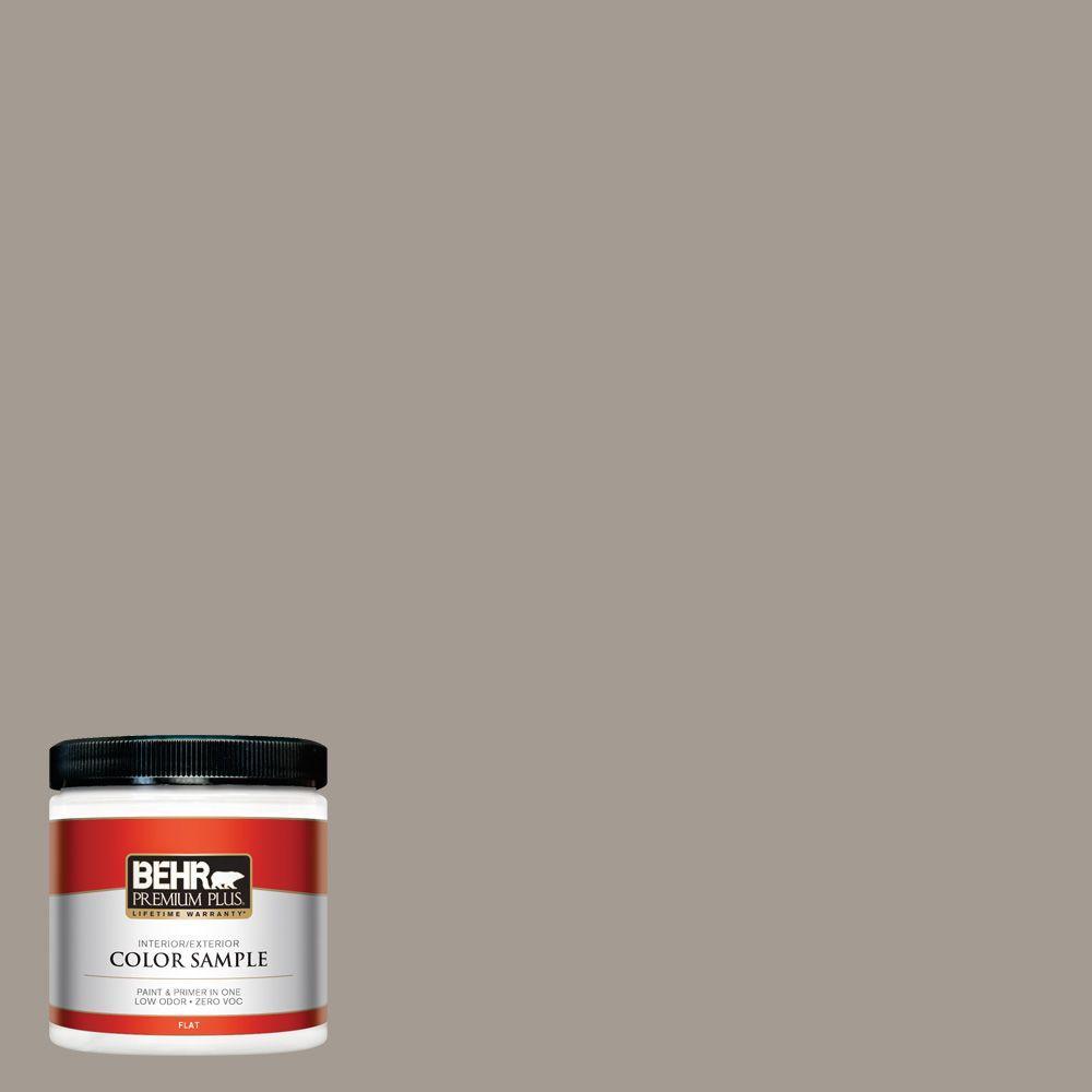 8 oz. #BXC-54 River Pebble Interior/Exterior Paint Sample