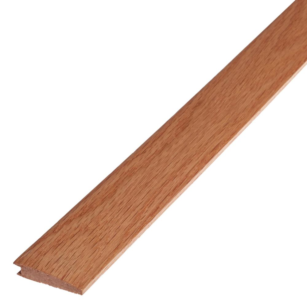 Shaw Rustic Natural 3/8 in. Thick x 1.5 in. Wide x 78 in. Length Flush Reducer Engineered Hardwood Molding