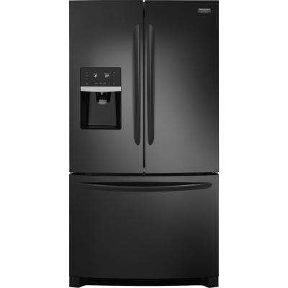 27.2 cu. ft. French Door Refrigerator in Black