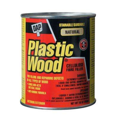 Plastic Wood 16 oz. Natural Solvent Wood Filler