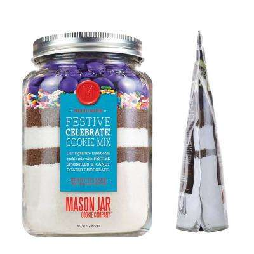 Celebrate! Cookie Mix in a Softjar Pouch