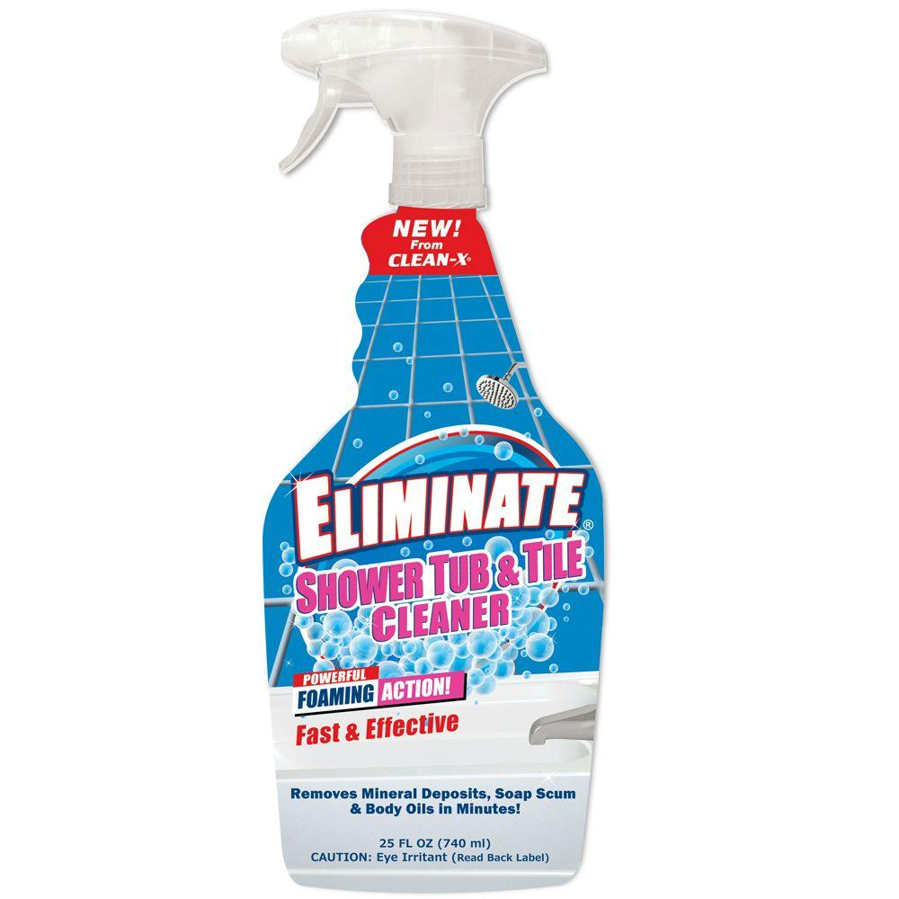 CleanX Oz Eliminate Shower Tub And Tile Cleaner The - Household bathroom cleaners