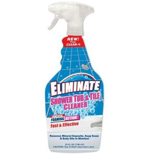 Clean-X 25 oz. Eliminate Shower Tub and Tile Cleaner-7999 ...
