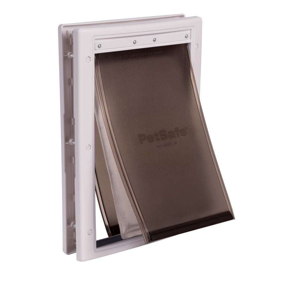 Petsafe 8 18 In X 12 14 In Medium Extreme Weather Pet Door Hpa11