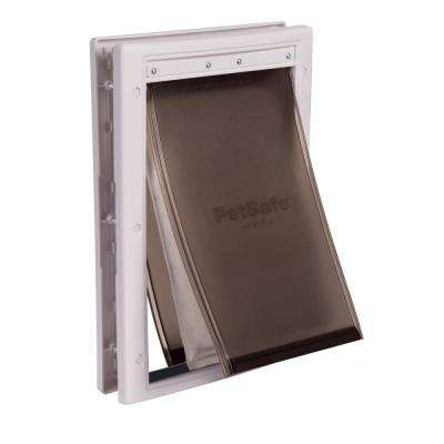 8-1/8 in. x 12-1/4 in. Medium Extreme Weather Pet Door
