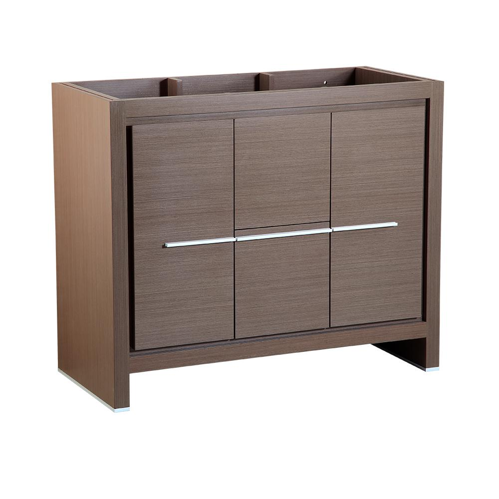 Fresca Allier 40 In Modern Bathroom Vanity Cabinet In Gray Oak Fcb8140go The Home Depot
