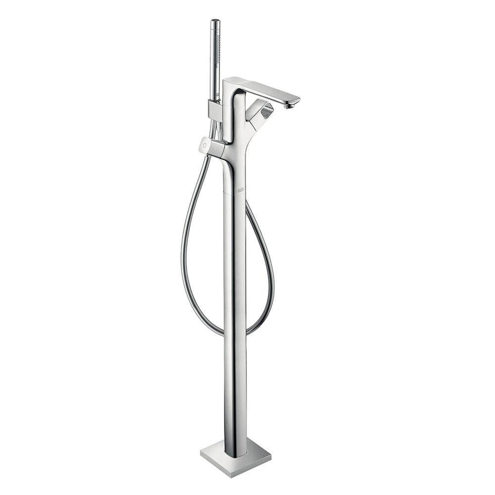 Hansgrohe Axor Urquiola Single-Handle Freestanding Roman Tub Faucet Trim Kit in Chrome (Valve Not Included)