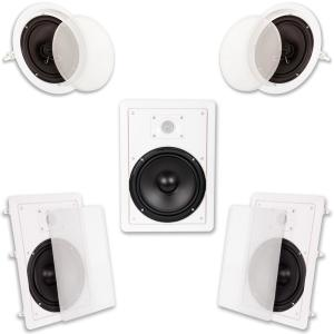 GPX 2 1 Channel Home Theater Speaker System-HT12B - The Home Depot