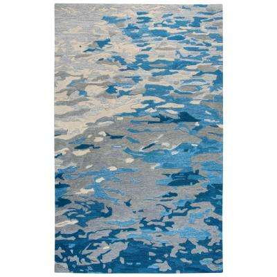 Vogue Blue 8 ft. x 10 ft. Area Rug
