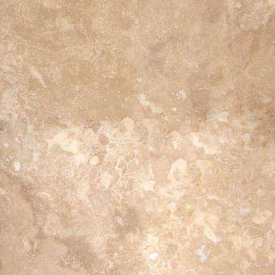 4 in. x 4 in. Ivory Select Travertine Sample