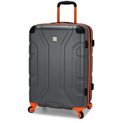 Sky High 26 in. Grey Expandable Hardside Spinner