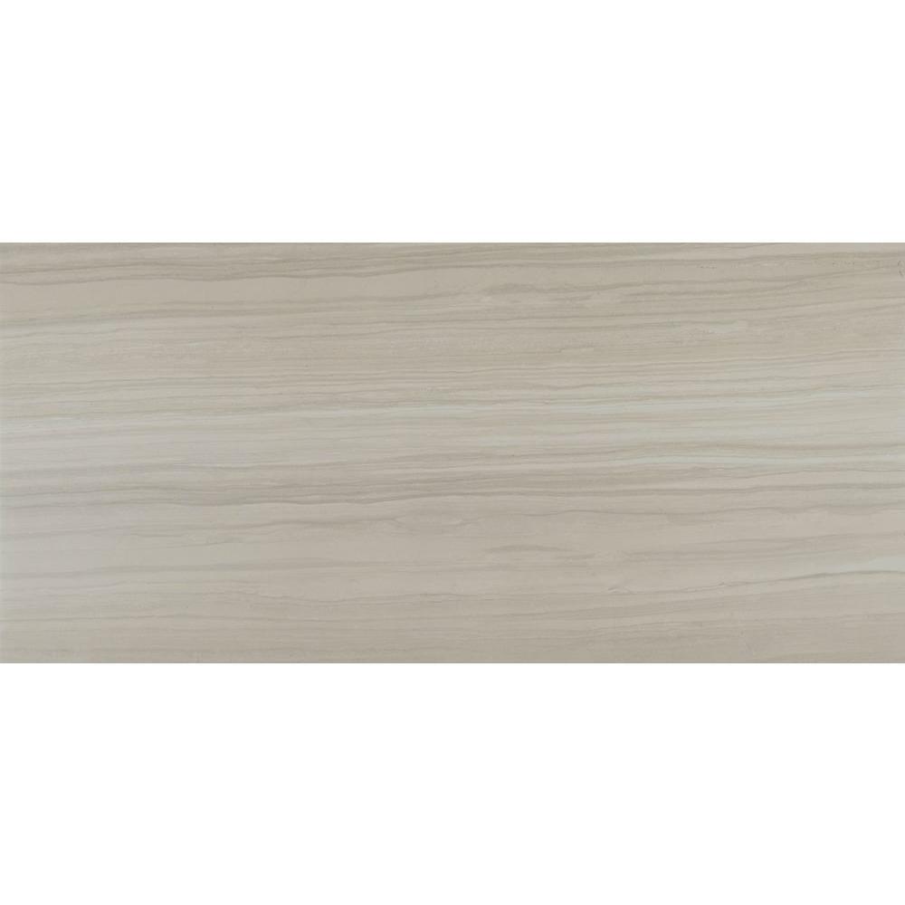 Cresta White 12 in. x 24 in. Glazed Porcelain Floor and Wall Tile (12 sq. ft. / case)