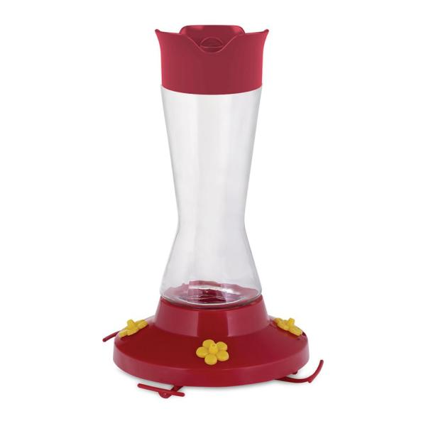 Pinch Waist Glass Hummingbird Feeder - 16 oz. Capacity