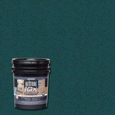 4 gal. 10X Advanced Tile Green Deck and Concrete Resurfacer