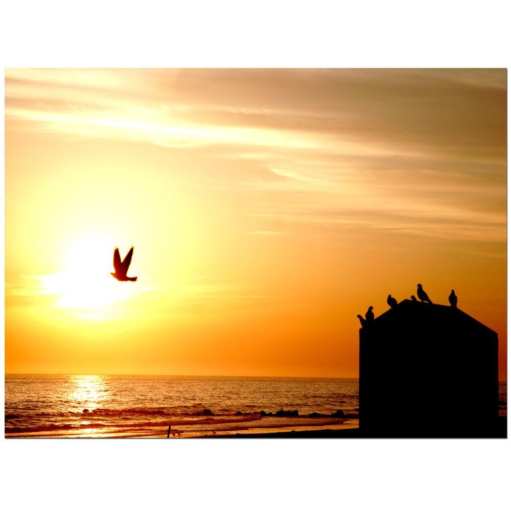 null 18 in. x 24 in. By the Sea Canvas Art