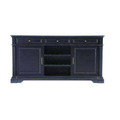 Bufford Rubbed Black Buffet