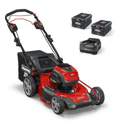 XD 82-Volt MAX Cordless Electric 21 in. Self-Propelled Lawn Mower Kit with (2) 2.0 Batteries & (1) Rapid Charger