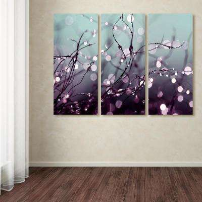"""32 in. x 42 in. """"Somewhere Over the Rainbow"""" by Beata Czyzowska Young Printed Canvas Wall Art"""